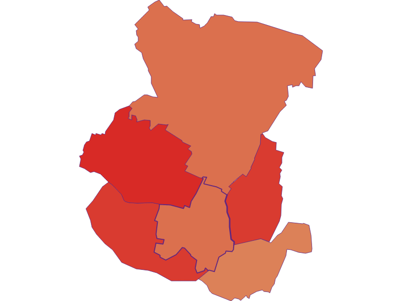 Демография с 1900 года в Spannberg