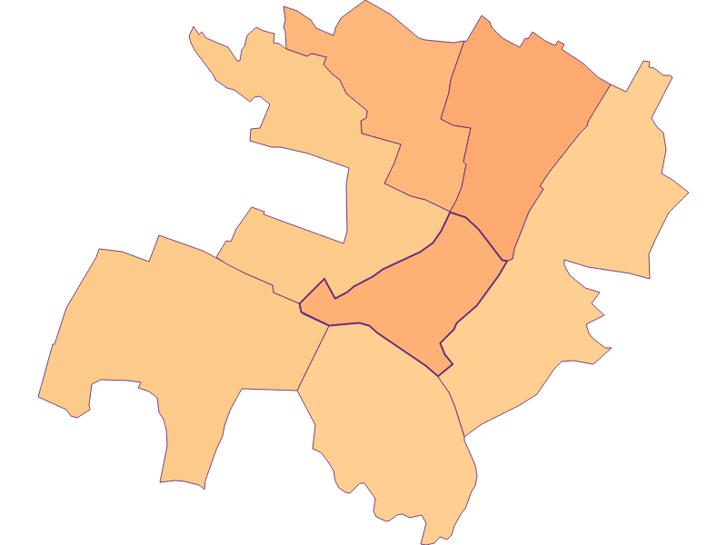 Размер домохозяйства в Strasshof an der Nordbahn