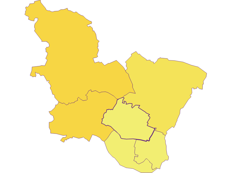 Population density in Sulz im Weinviertel