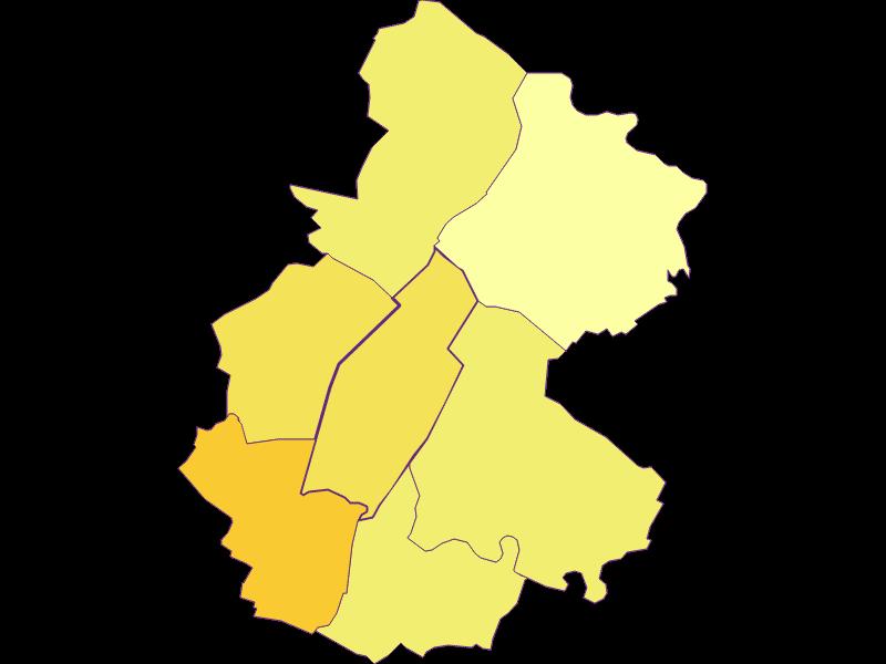 Population density in Untersiebenbrunn
