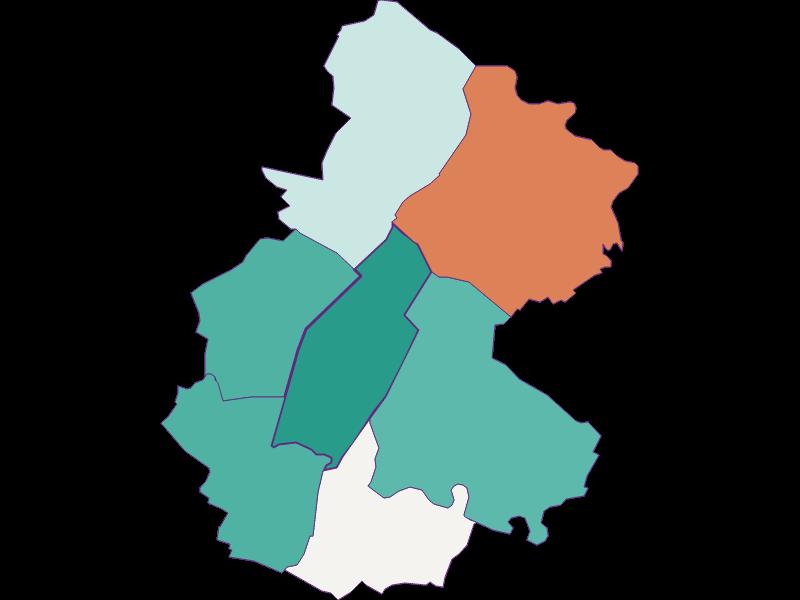Population development since 1869 in Untersiebenbrunn