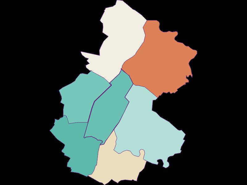Population development since 1900 in Untersiebenbrunn