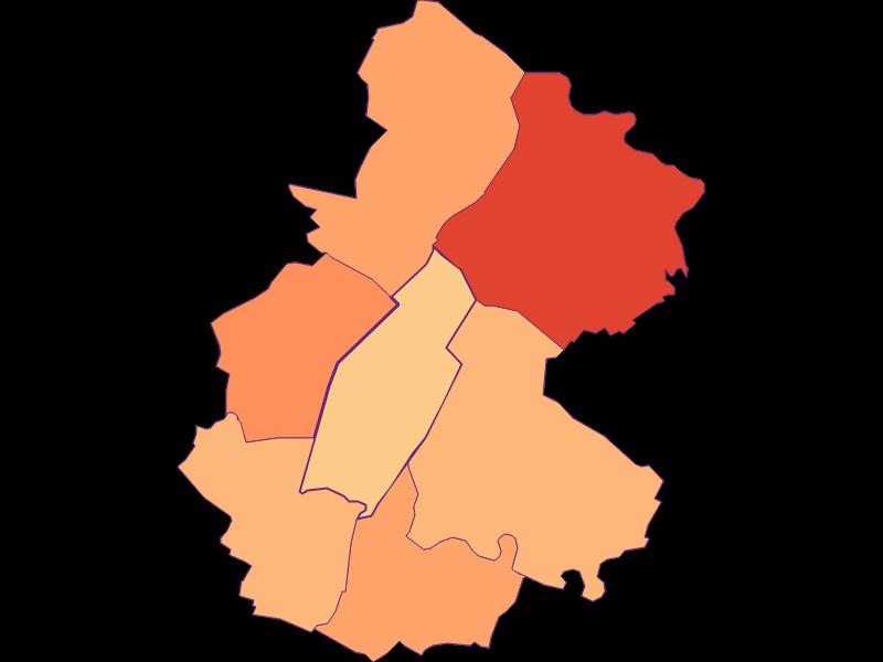 Household size in Untersiebenbrunn