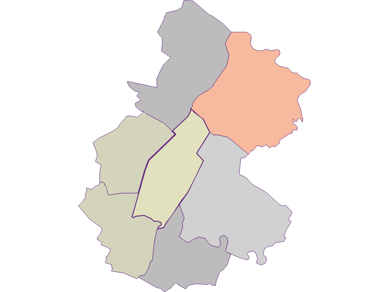 Farmers (comparison to federal state) in Untersiebenbrunn