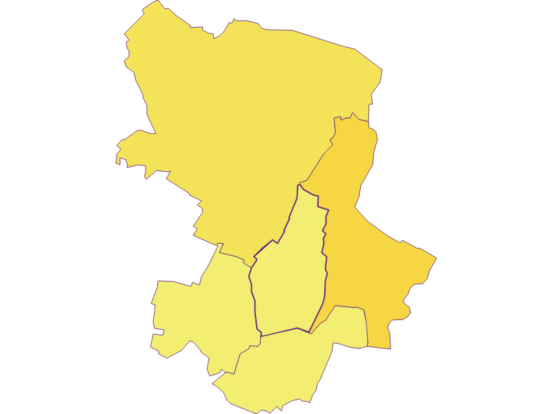 Population density in Velm-Götzendorf