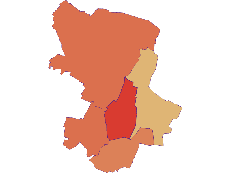 Population development since 1900 in Velm-Götzendorf