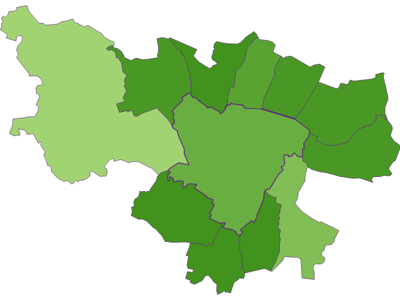 Заселенность в Zistersdorf