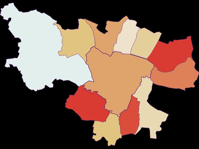 Демография с 1869 года в Zistersdorf