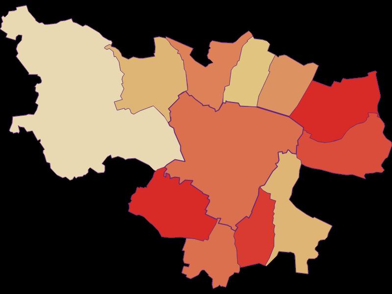Демография с 1900 года в Zistersdorf