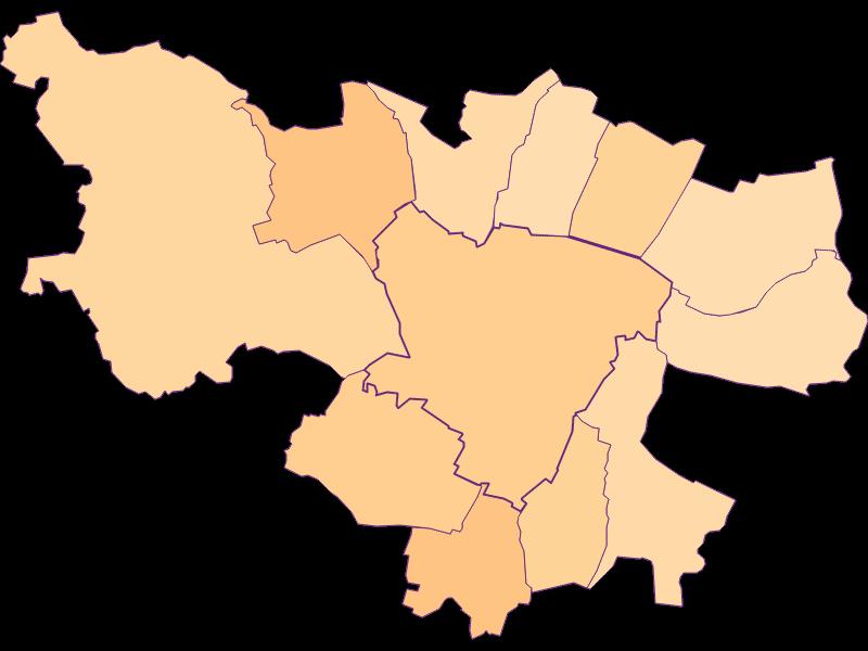 Размер домохозяйства в Zistersdorf