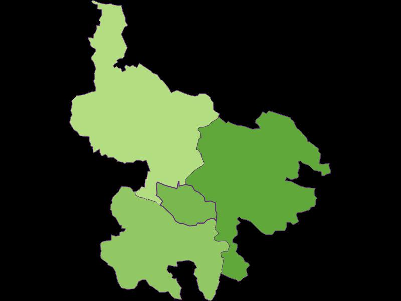 Settlement in Hirschbach