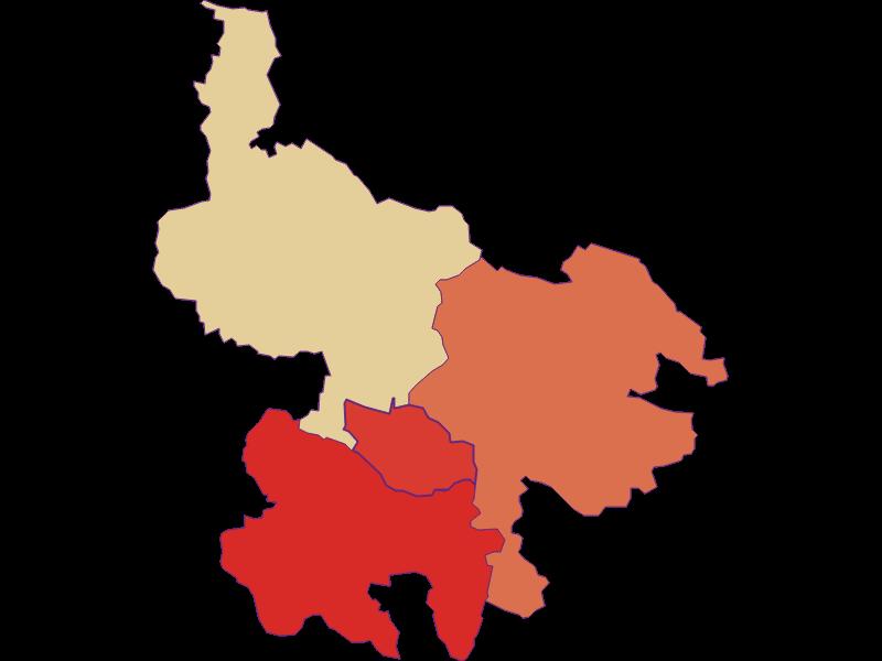 Population development since 1869 in Hirschbach