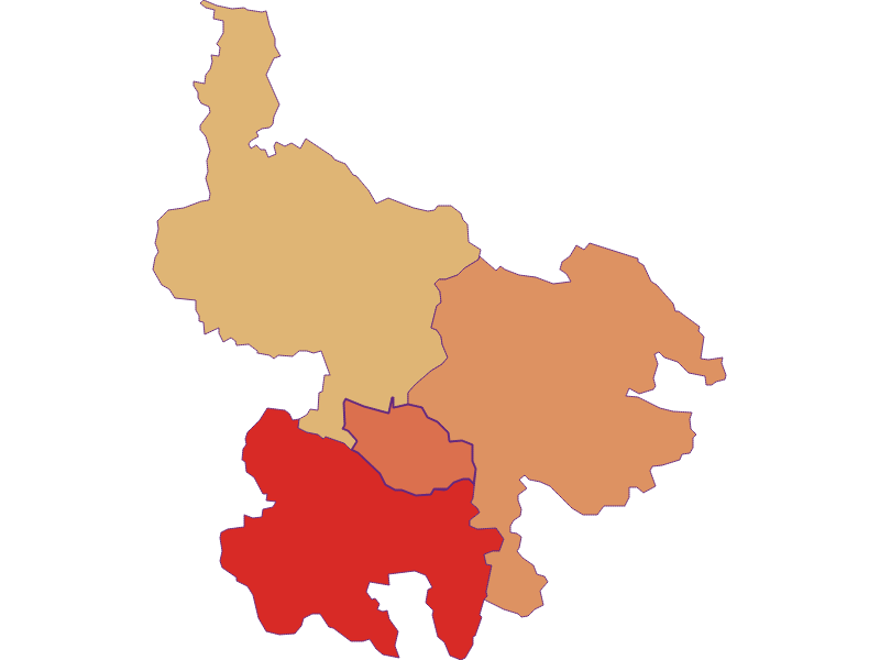 Population development since 1900 in Hirschbach