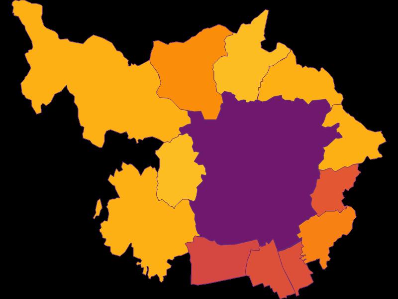 Bevölkerungsdichte | Graz