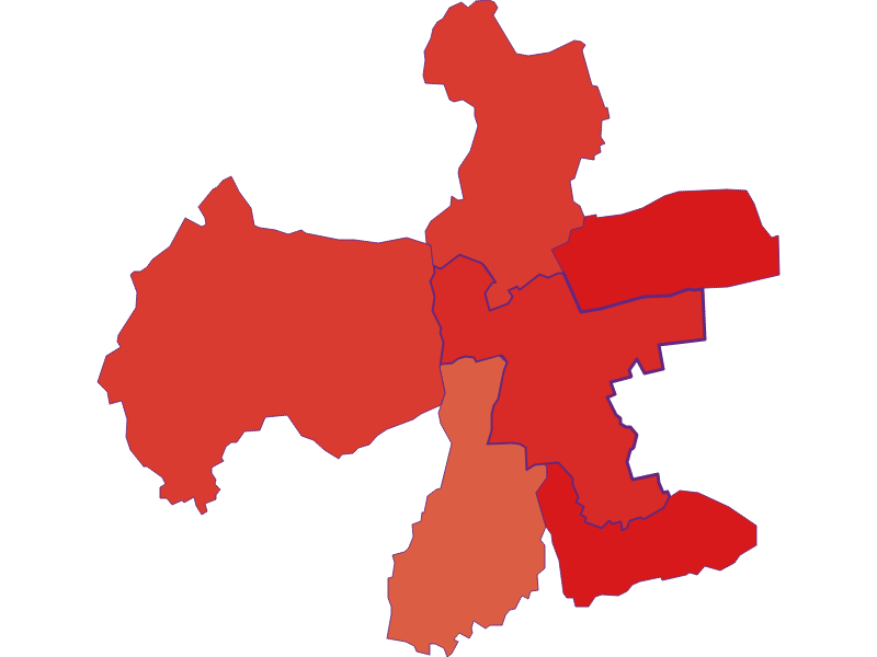 Population development since 1869 in Eberau