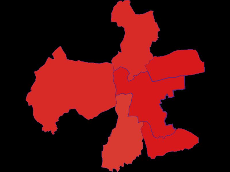 Population development since 1900 in Eberau