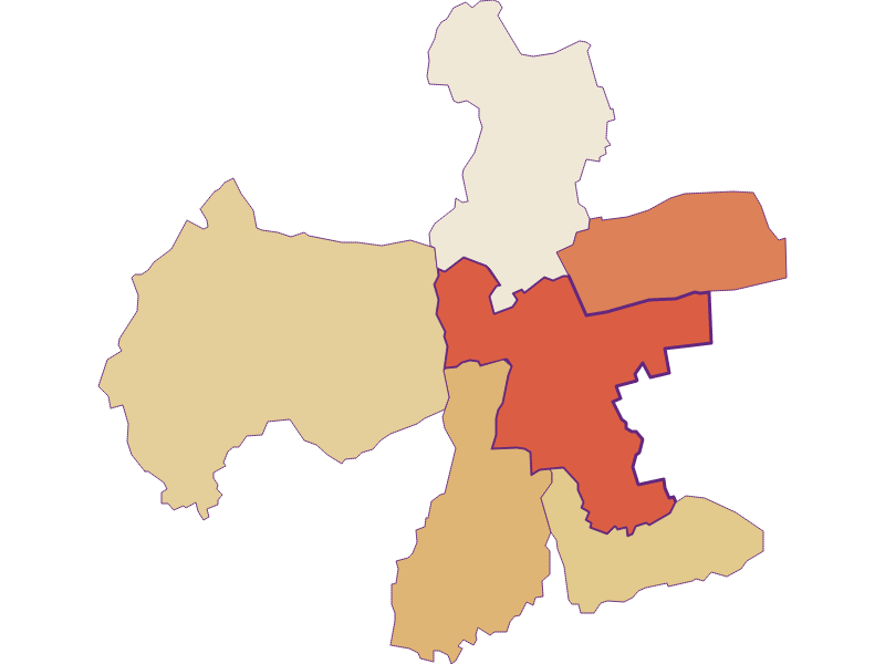 Population development since 2011 in Eberau