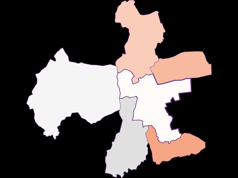 Farmers (comparison to federal state) in Eberau