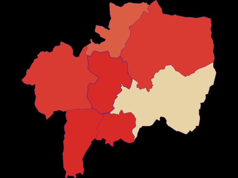 Bevölkerungsentwicklung seit 1869 in Gerersdorf-Sulz