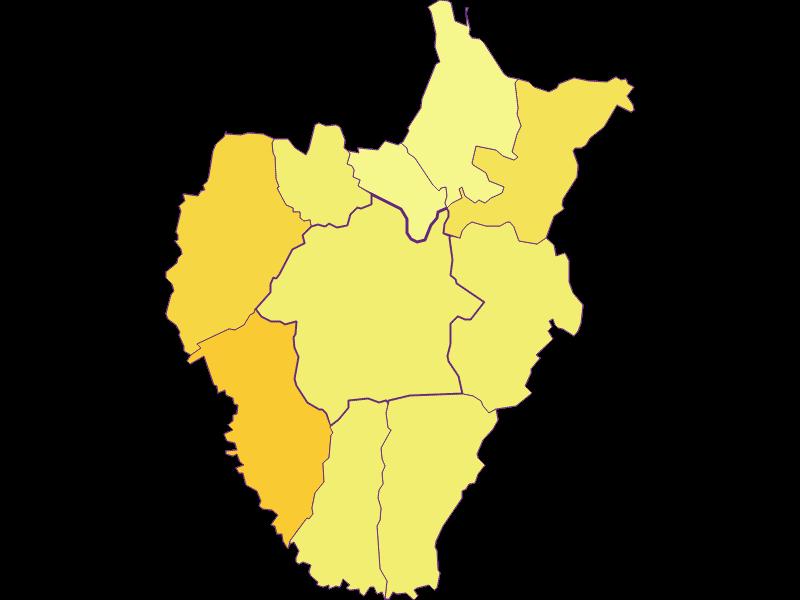 Плотность населения в Kukmirn
