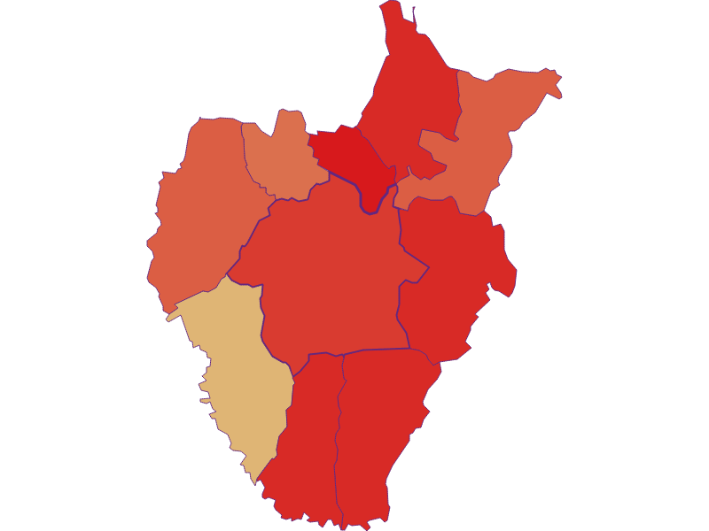 Population development since 1869 in Kukmirn