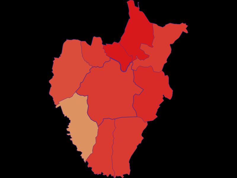 Population development since 1900 in Kukmirn