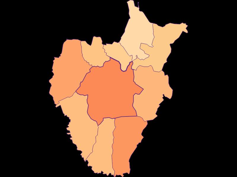 Размер домохозяйства в Kukmirn