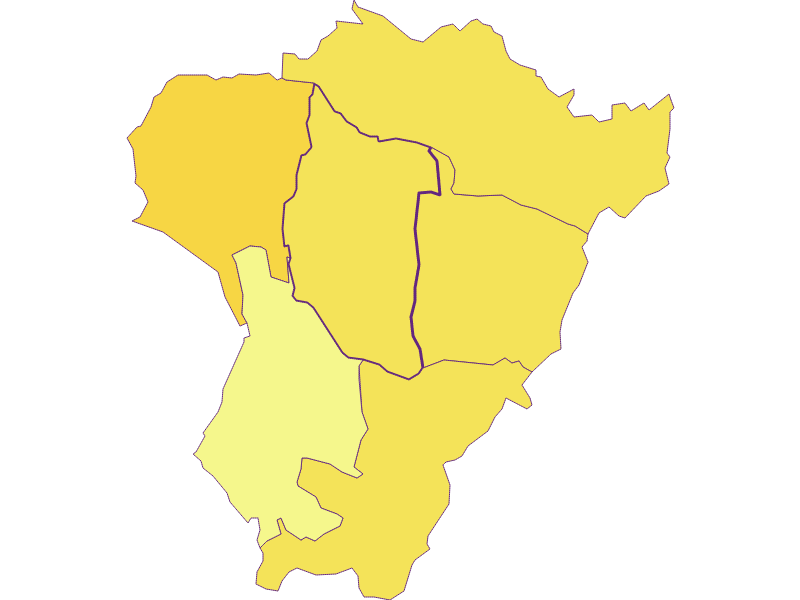 Population density in Neuberg im Burgenland