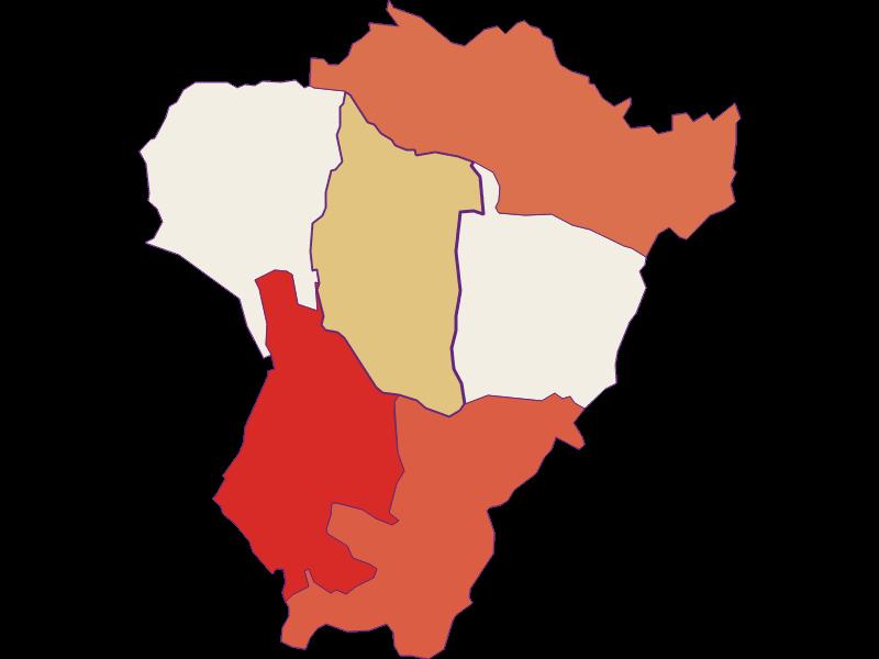 Population development since 1869 in Neuberg im Burgenland