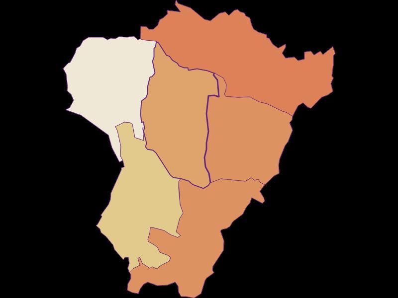 Population development since 2011 in Neuberg im Burgenland