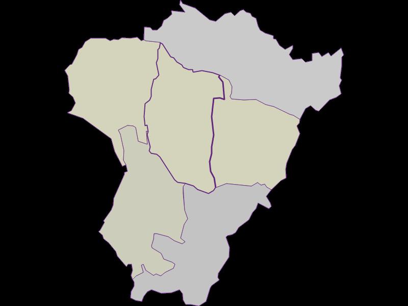 Farmers (comparison to federal state) in Neuberg im Burgenland