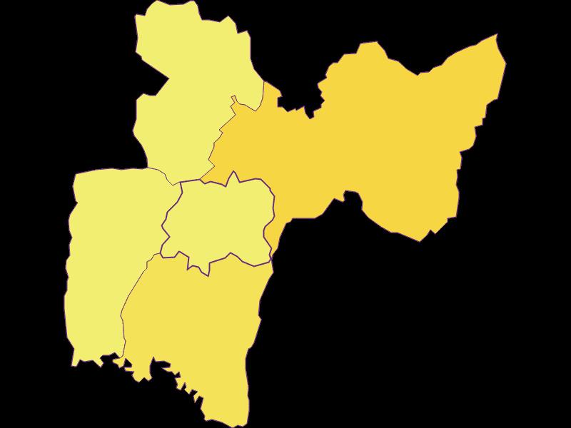 Population density in Neustift bei Güssing