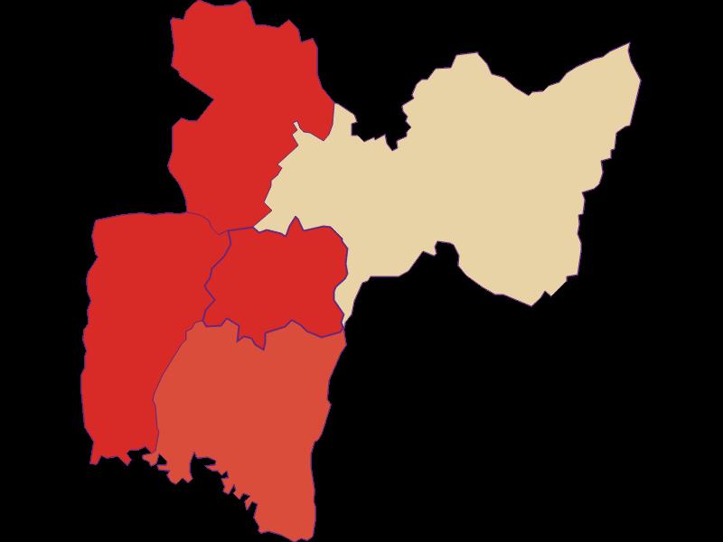 Population development since 1869 in Neustift bei Güssing