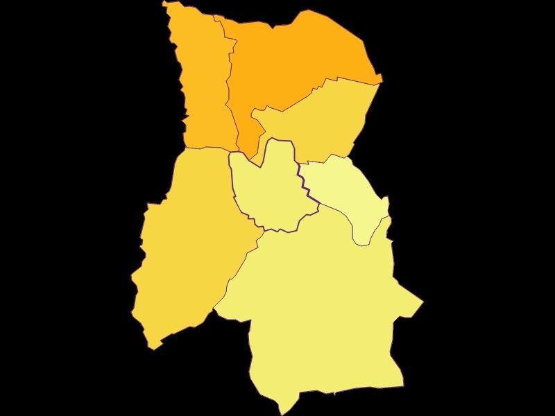Плотность населения в Rohr im Burgenland