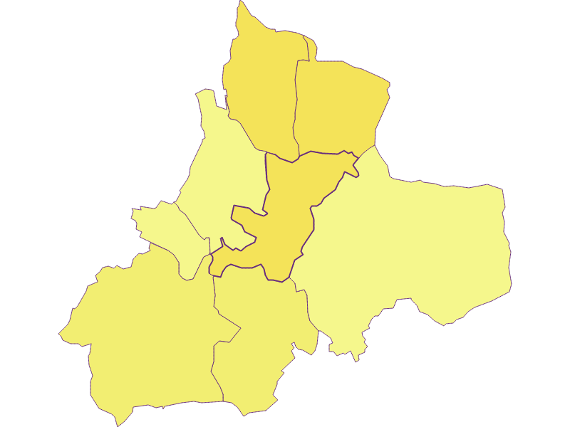 Плотность населения в Sankt Michael im Burgenland
