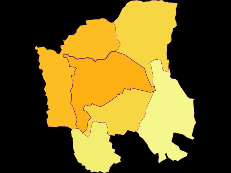 Плотность населения в Stegersbach