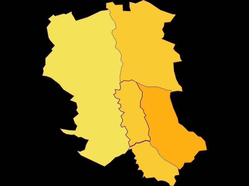Population density in Wörterberg