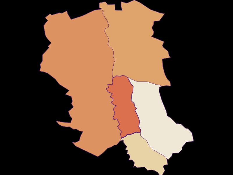 Population development since 1869 in Wörterberg