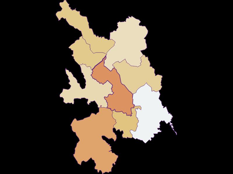 Population development since 1869 in Großwilfersdorf