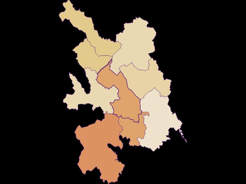 Population development since 1900 in Großwilfersdorf