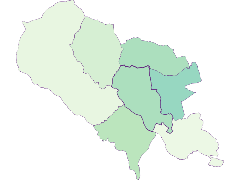 Fremdenanteil in Hartberg Umgebung