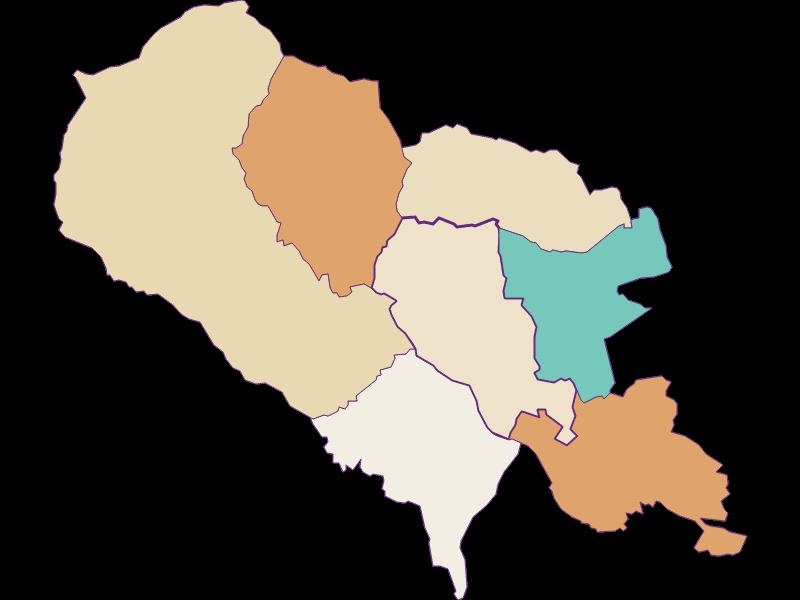 Bevölkerungsentwicklung seit 1869 in Hartberg Umgebung