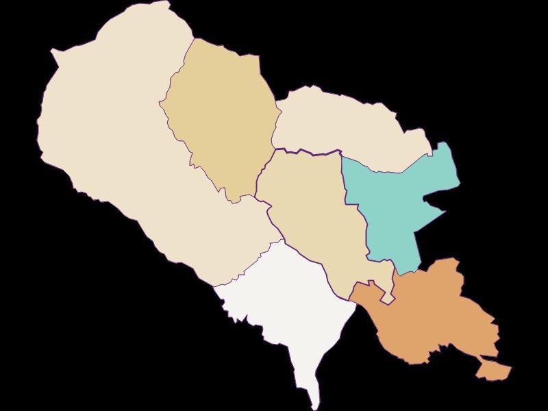 Bevölkerungsentwicklung seit 1900 in Hartberg Umgebung