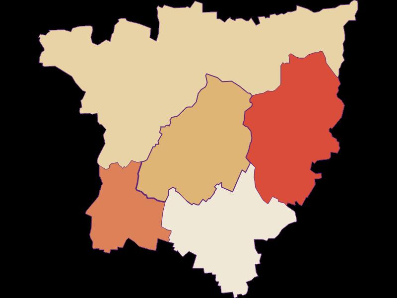 Population development since 1900 in Göllersdorf