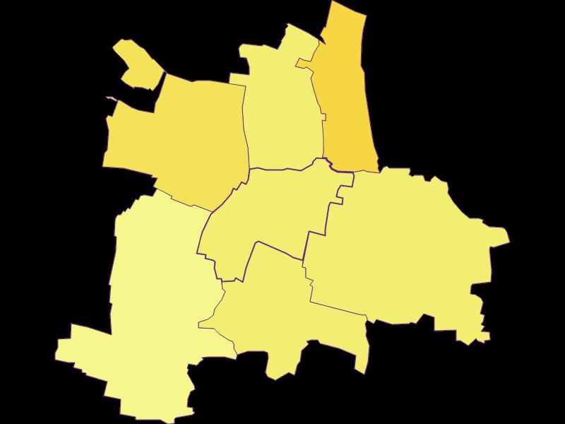 Population density in Guntersdorf