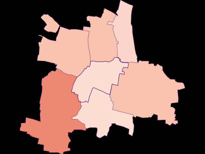 Farmers (comparison to Austria) in Guntersdorf