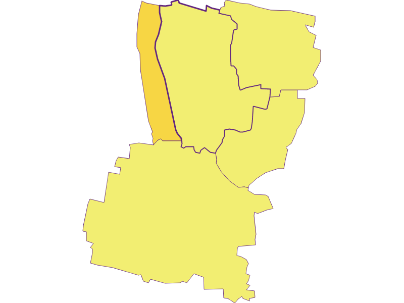 Population density in Hadres