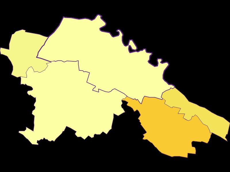 Плотность населения в Hardegg