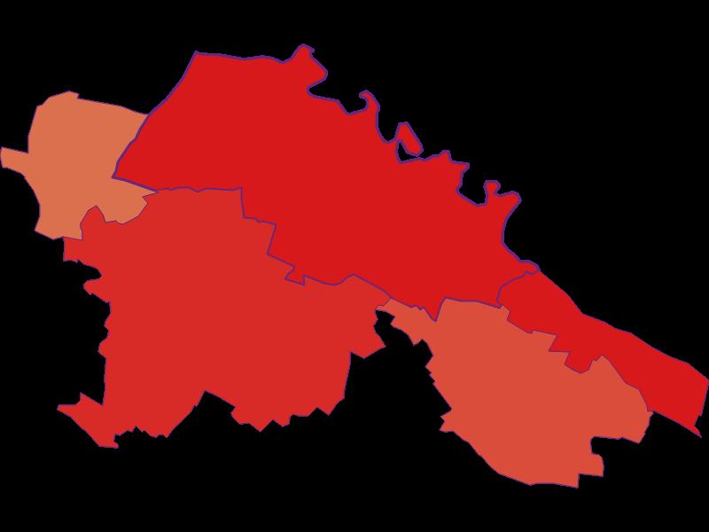 Population development since 1900 in Hardegg