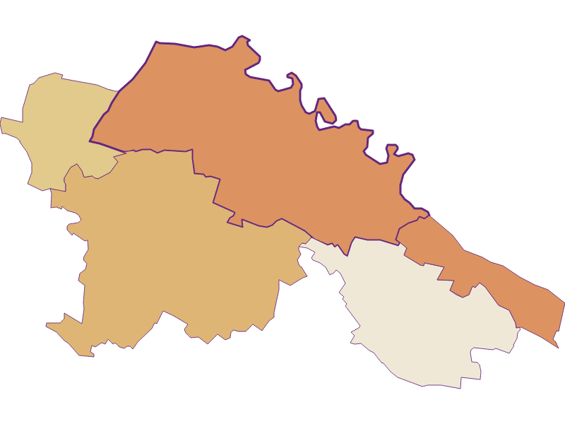 Population development since 2011 in Hardegg